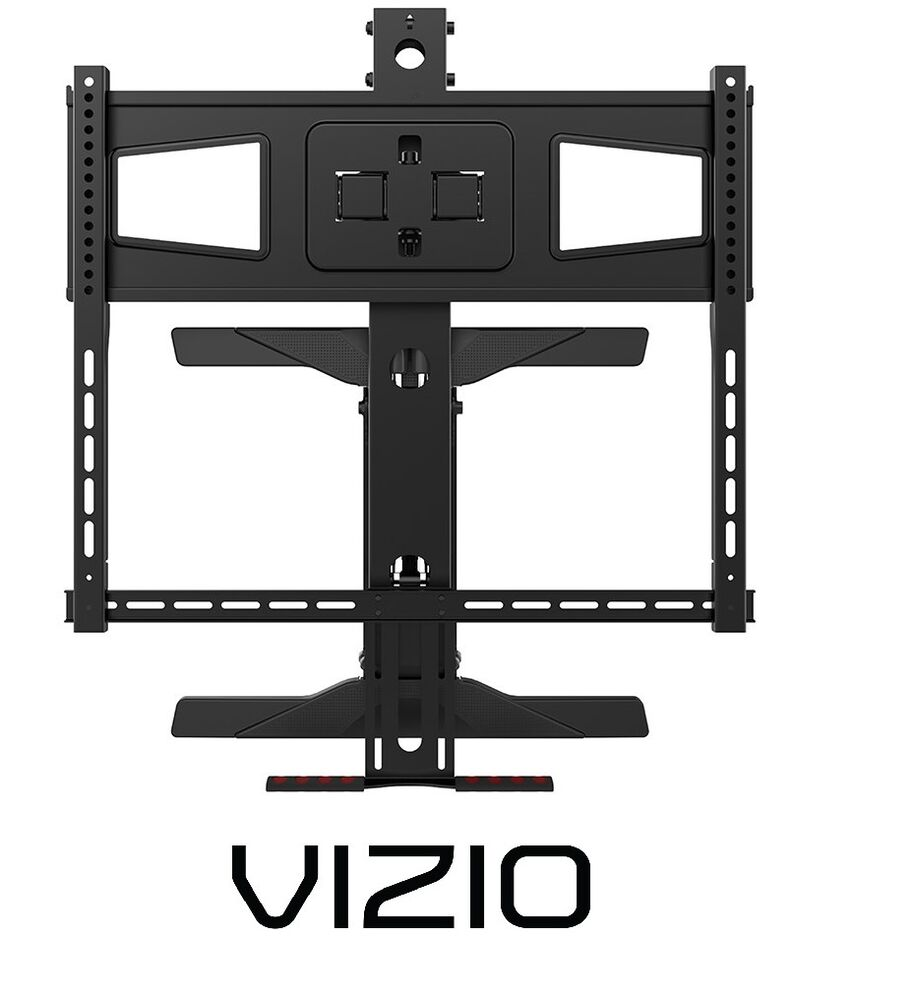 above fireplace pull down full motion vizio tv wall mount 43 50 55 60 70 ebay. Black Bedroom Furniture Sets. Home Design Ideas
