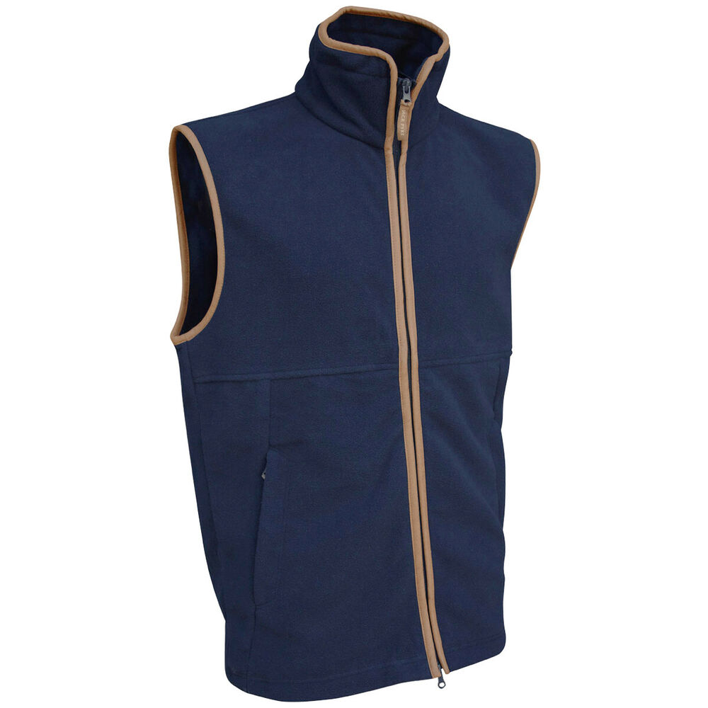 Jack Pyke Countryman Body Warmer Mens Vest Fleece Gilet Warm Hunting Jacket Navy | eBay
