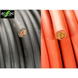 Kyпить  2 Gauge AWG Welding Lead & Car Battery Cable Copper Wire MADE IN USA SOLAR  на еВаy.соm