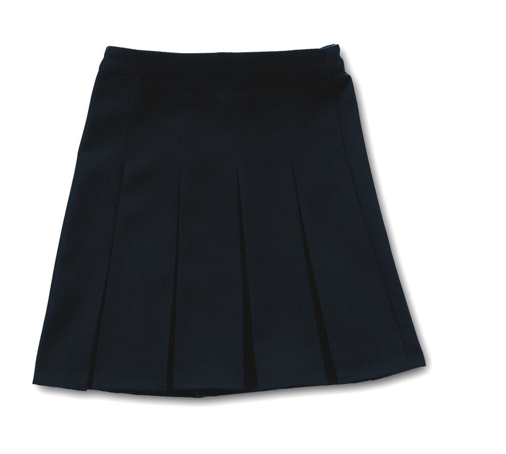 quality pleated skirt navy blue school