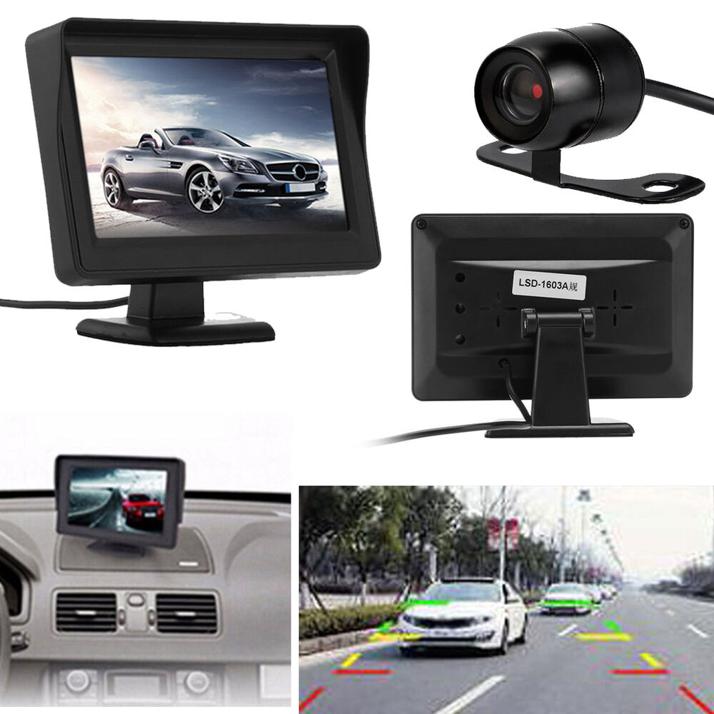 4.3'' TFT LCD Car Rear View Backup Monitor System