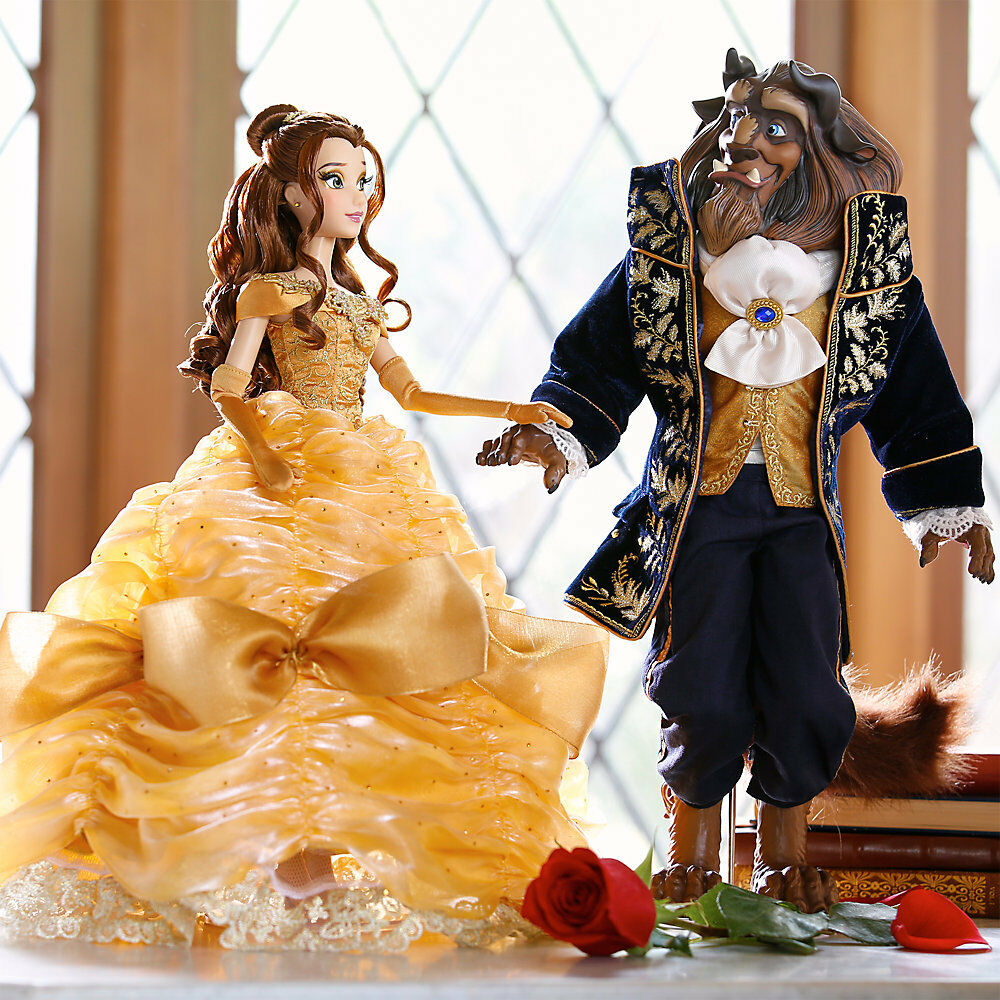 New Disney Store Beauty Belle And The Beast Limited