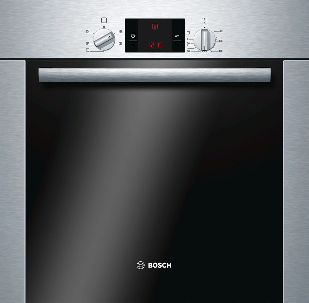 new bosch hba13b253a 60cm serie 6 electric built in oven. Black Bedroom Furniture Sets. Home Design Ideas