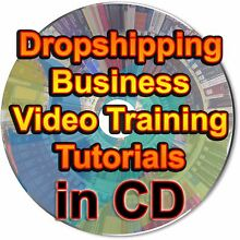 Dropshipping Business Video Training Tutorials Learn How To What Is Lessons CD