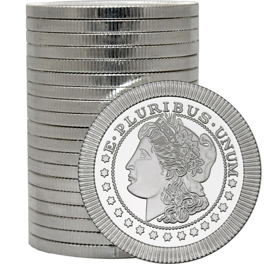 Morgan Dollar Stackables By Silvertowne 1oz 999 Silver
