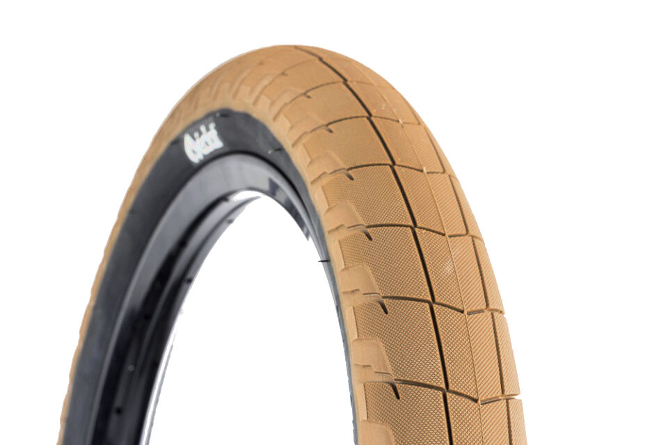 eclat fireball tire dark gum w black sidewall bmx 100psi ebay. Black Bedroom Furniture Sets. Home Design Ideas