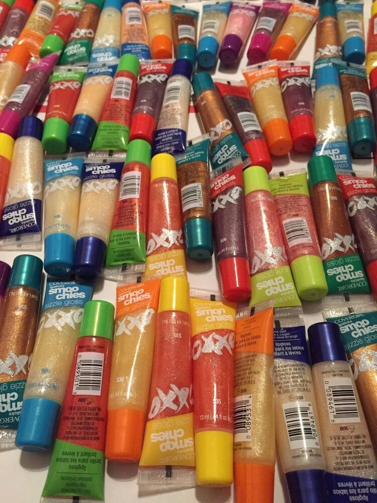 Wholesale LOT OF 50 CoverGirl Lipslicks Smoochies Gloss