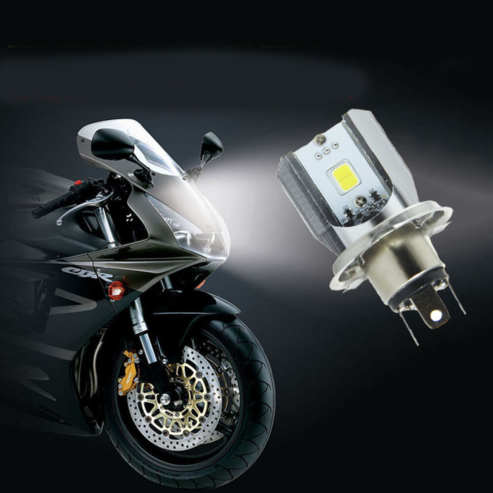 h4 led motorrad cob hi lo beam scheinwerfer. Black Bedroom Furniture Sets. Home Design Ideas