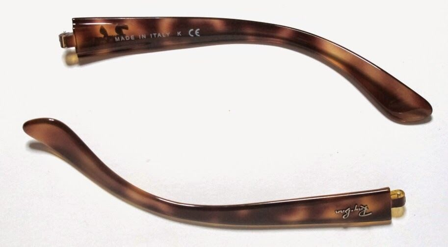 279f30541f7e Details about ASTE RICAMBIO RAY BAN 4068 642 HAVANA AVANA REPLACEMENT SIDE ARMS  TEMPLES