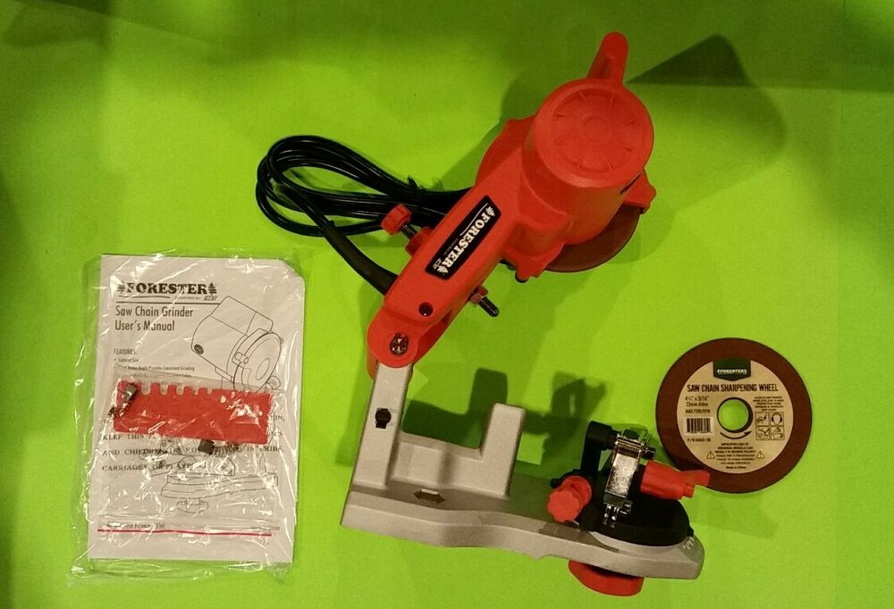 Chainsaw Chain Bench Grinder Sharpener With Stones Like