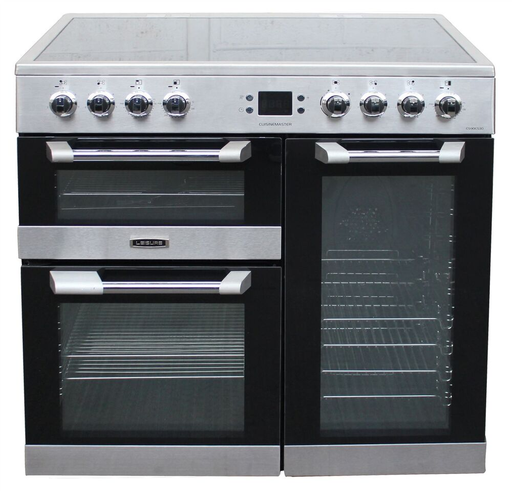 Leisure Cuisinemaster Cs90c530x Electric Ceramic Range