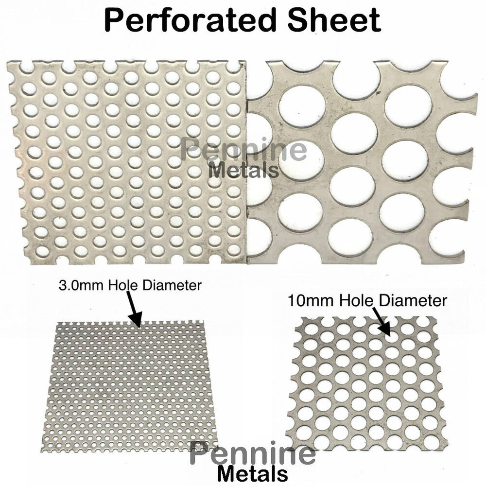 Perforated Sheet 3mm Or 10 Mm 216 Hole Aluminium Stainless