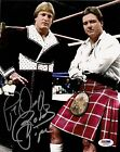 Rowdy Roddy Piper & Paul Orndorff Signed 8x10 Photo PSA/DNA COA Autographed WWE