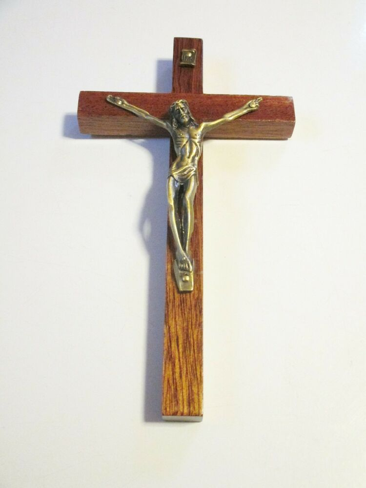 Beautiful 7 Inch Wood Wall Cross Crucifix Ebay