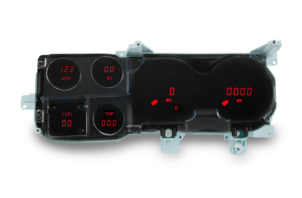 chevy truck digital dash panel for 1973 1987 gauges gmc 2000 lincoln town car fuse box location #13