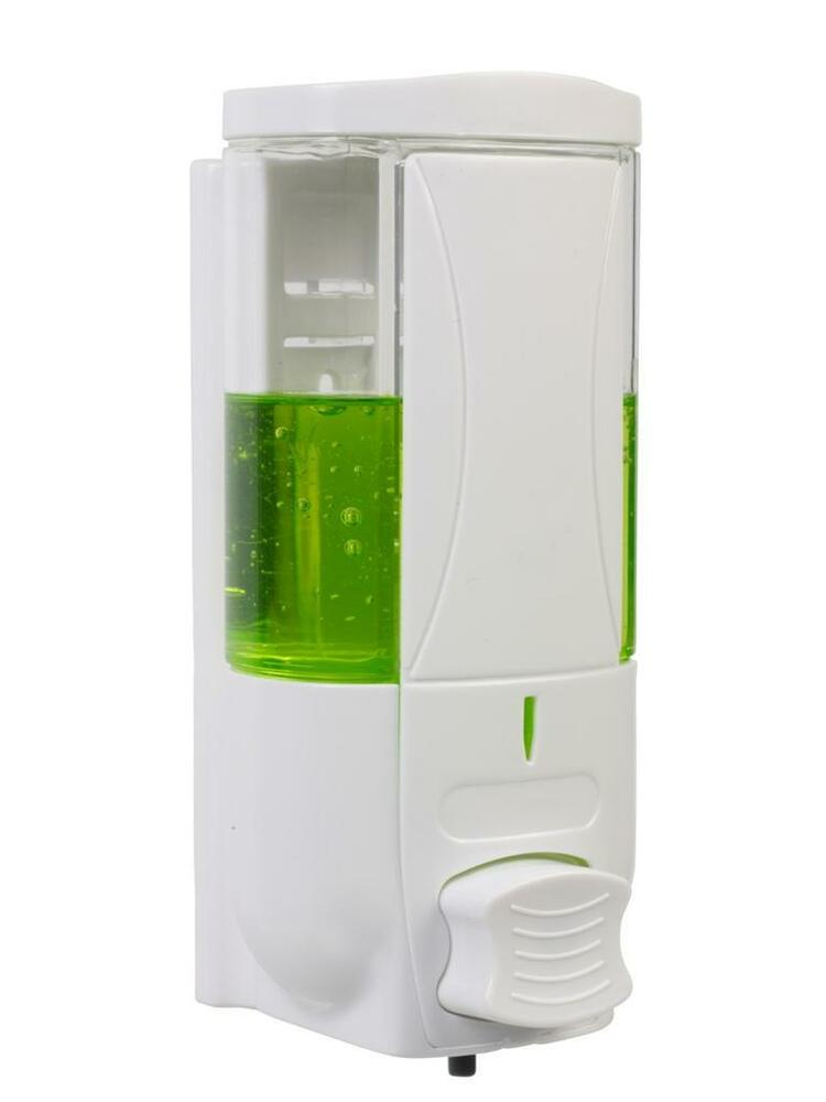 Wall Mounted Soap Liquid Dispenser Sanitizer Bathroom