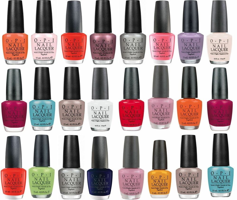 OPI Collection Nail Polish Lacquer New 15ml | eBay