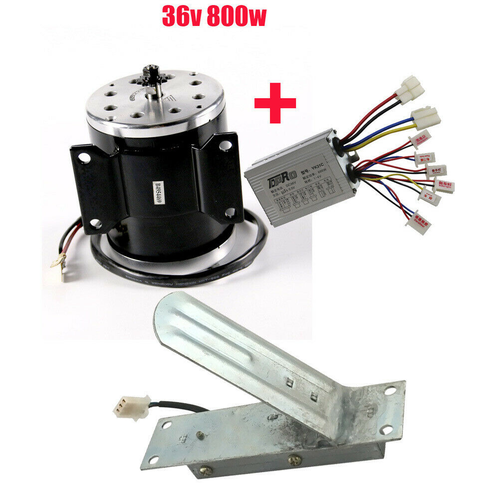 36V 800W Electric    Brush       Motor     Speed Controller  Foot