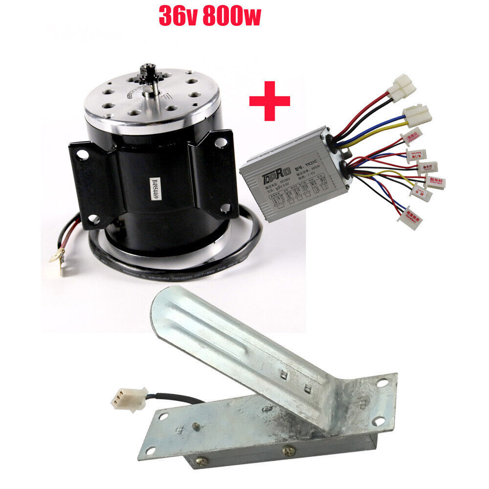 36v 800w electric brush motor speed controller foot for Speed control electric motor
