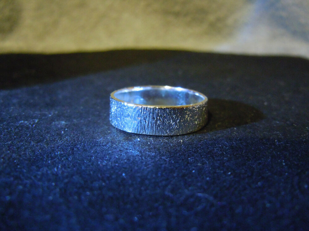 New Pure Silver 999 Bullion Sz101 4 Mens Ring Made By