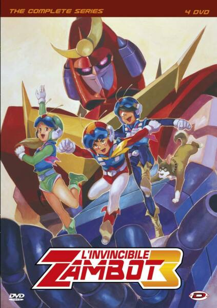 L'Invincibile Zambot 3 - The Complete Series (4 Dvd) DYNIT