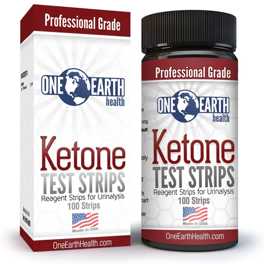 Advanced Ketone Test Strips 100 count - Professional Grade ...