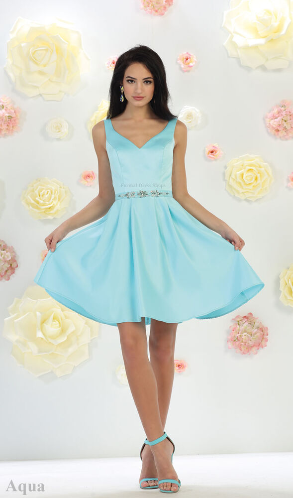 CLASSY SHORT FLOWY HOMECOMING PROM CUTE BIRTHDAY DRESSES ...