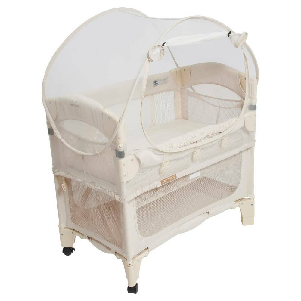 Arm 39 S Reach Mini Co Sleeper Bassinet Canopy Ebay