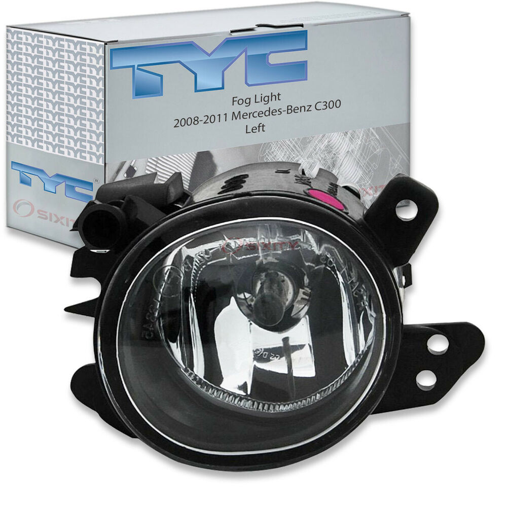 Tyc left fog light assembly 2008 2011 mercedes benz c300 for Mercedes benz spare parts price list