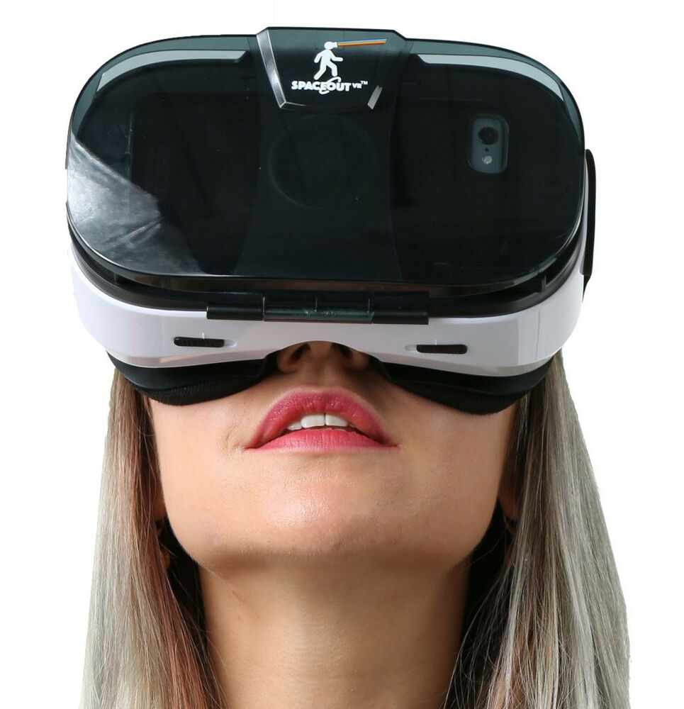 spaceout vr premium viewer vr virtual reality glasses headset apple android ebay. Black Bedroom Furniture Sets. Home Design Ideas