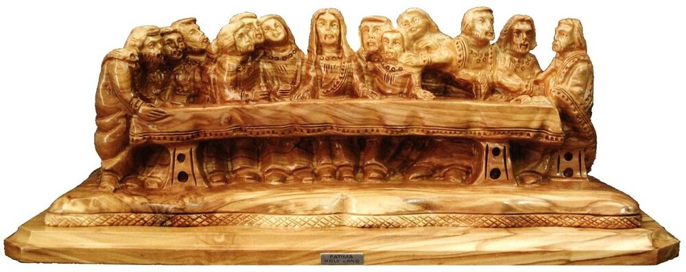 Last supper carving wood carved religious icon religious gift etsy