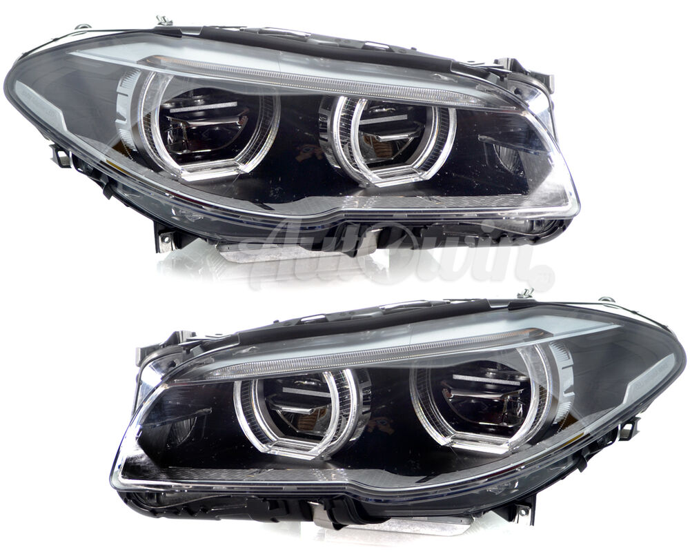 Bmw 5 Series F10 F11 Full Led Adaptive Headlight Assembly Lh Amp Rh Side Genuine Ebay