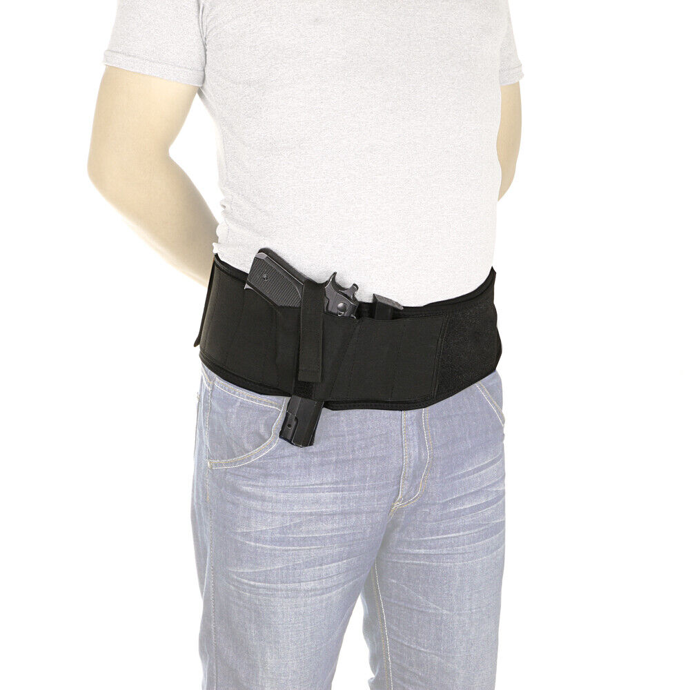 Ultimate Belly Band Holster For Concealed Carry Fits Gun