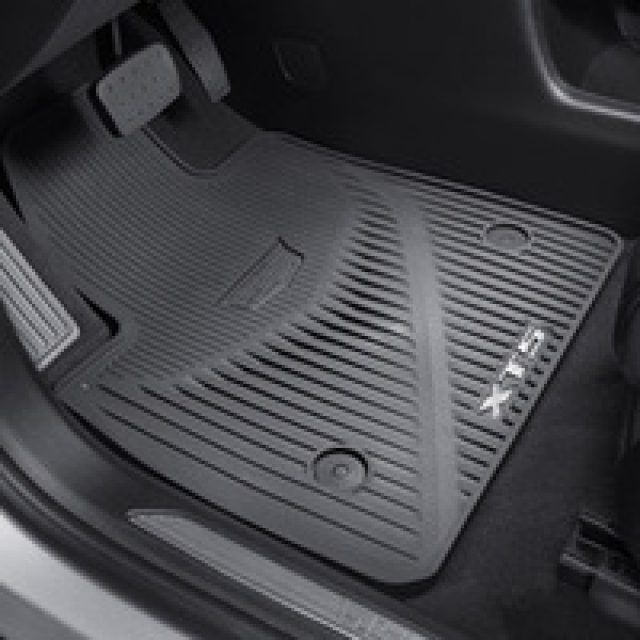 2017 Cadillac Xt5 Genuine Gm Black All Weather Floor Mats