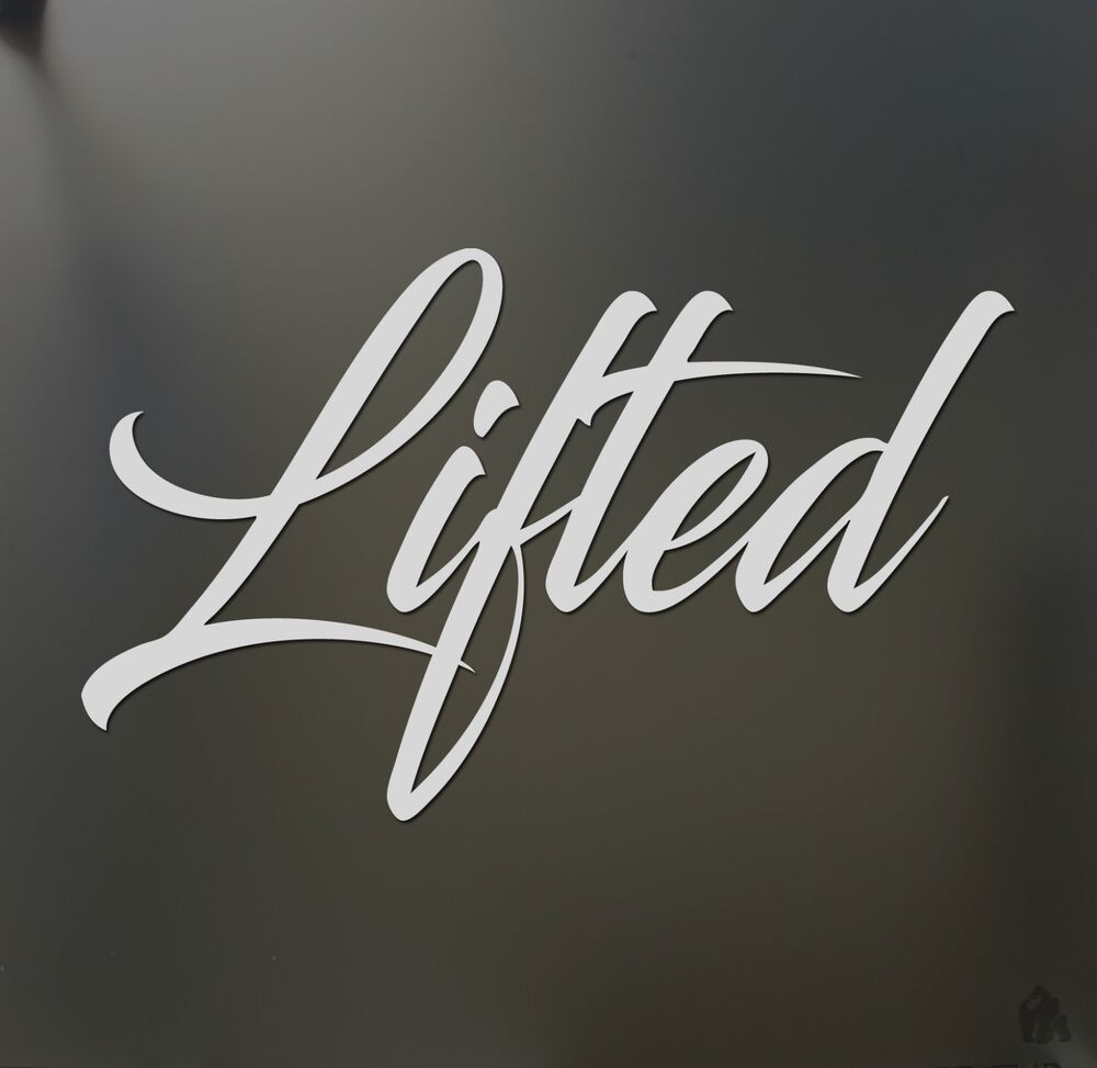 Lifted Truck Sticker Chevy Ford Dodge Diesel Power Stroke