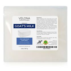 Kyпить 2,5,10,24 LB - GOATS MILK Soap Base by Velona | SLS/SLES free | Melt and Pour на еВаy.соm
