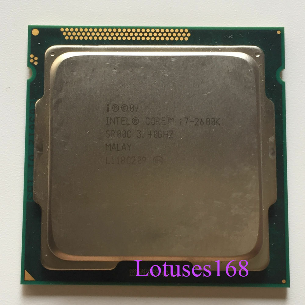 intel core i7 2600k 3 4ghz quad core l3 8m processor lga1155 h2 cpu gpu 95w 675901058520 ebay. Black Bedroom Furniture Sets. Home Design Ideas