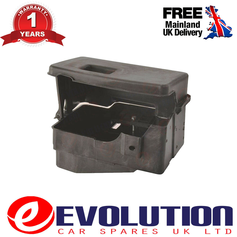 battery tray box fits ford focus mk1 1998 2004 98ab 10723 ab 1112680 ebay. Black Bedroom Furniture Sets. Home Design Ideas