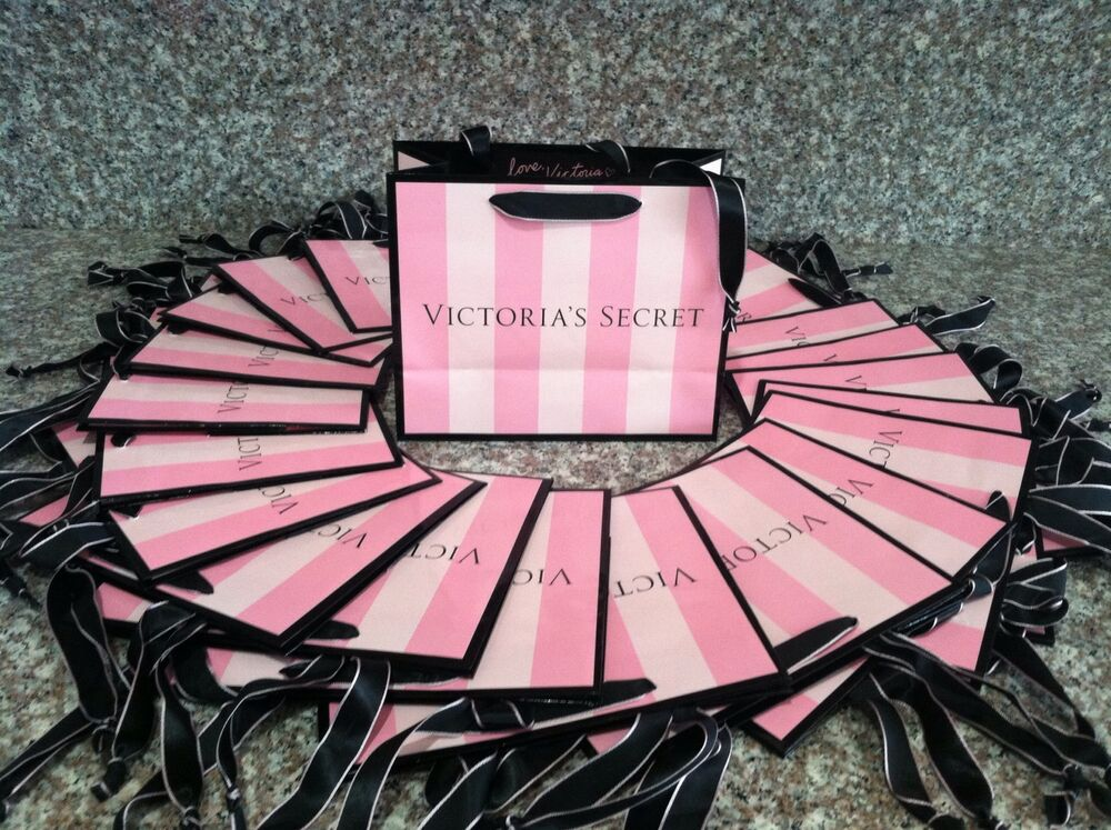 50 Large Victoria S Secret Shopping Gift Paper Bags Iconic