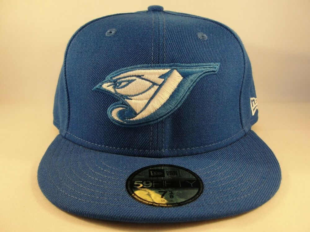 Details about MLB Toronto Blue Jays New Era 59FIFTY Fitted Hat Cap Basic c6cf046d7f29c