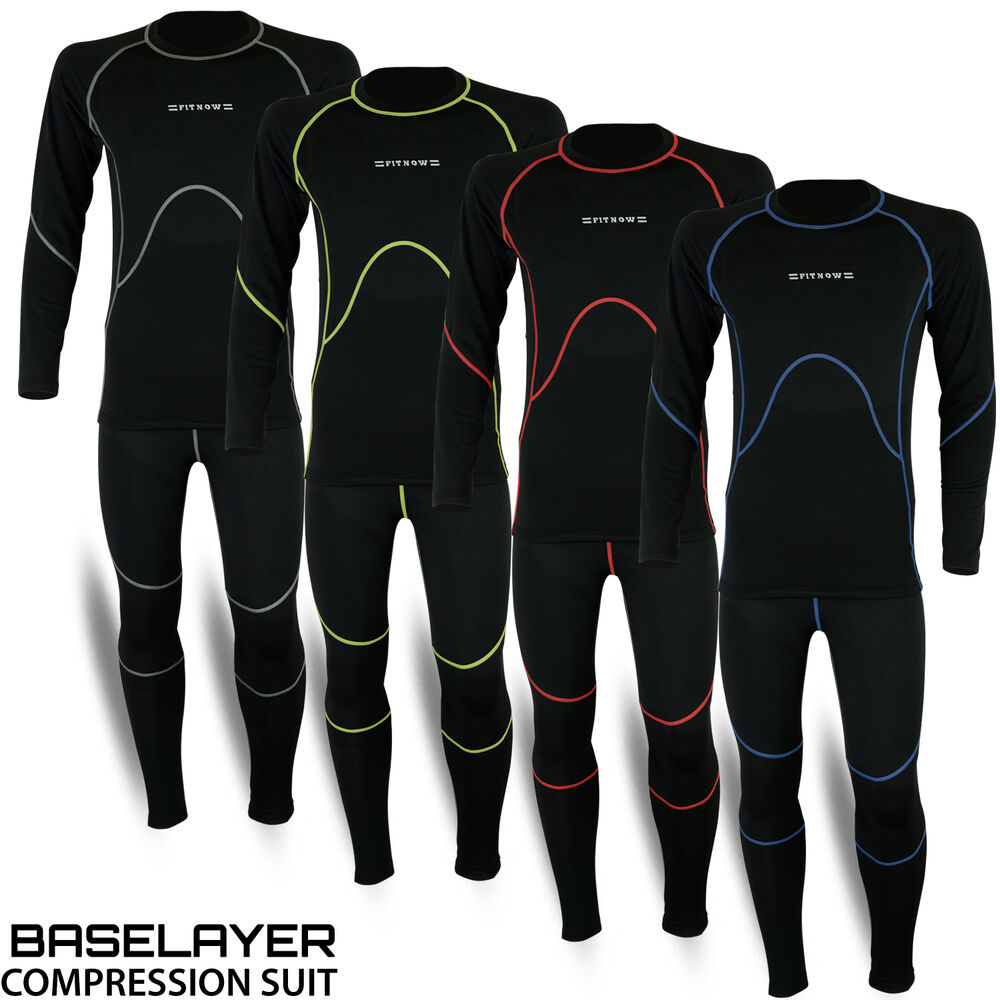Details about Mens Compression Thermal Base Layer Tights Shirt Under Full  Suit Pant 4 Colors 7e29b9b33c57