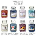 *BIG WINTER SALE - UP TO 50% OFF* Yankee Candle Large Jar Scented 22oz Variety