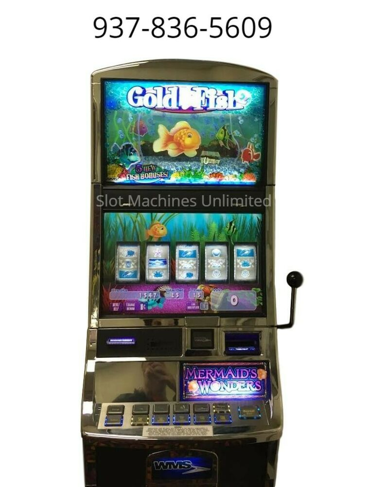 Williams Wms Bb2 Bluebird Slot Machine Quot Goldfish 2 Quot Ebay