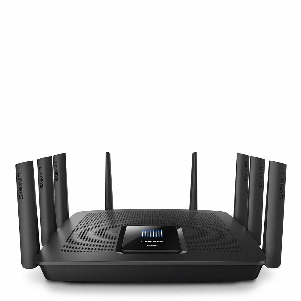 linksys ea9500 ac5400 max stream tri band mu mimo wifi. Black Bedroom Furniture Sets. Home Design Ideas