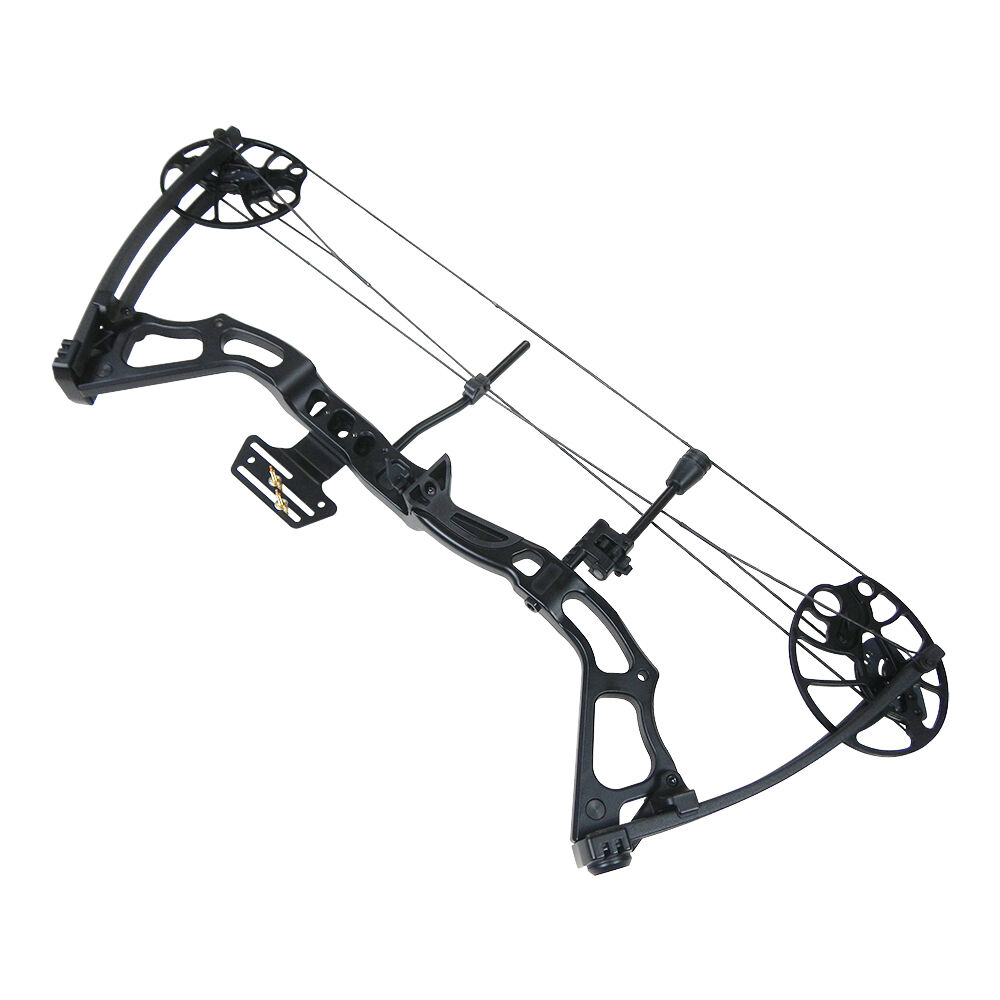 15 70 lb black archery hunting compound bow 150 75 55 30 for Compound bow fishing