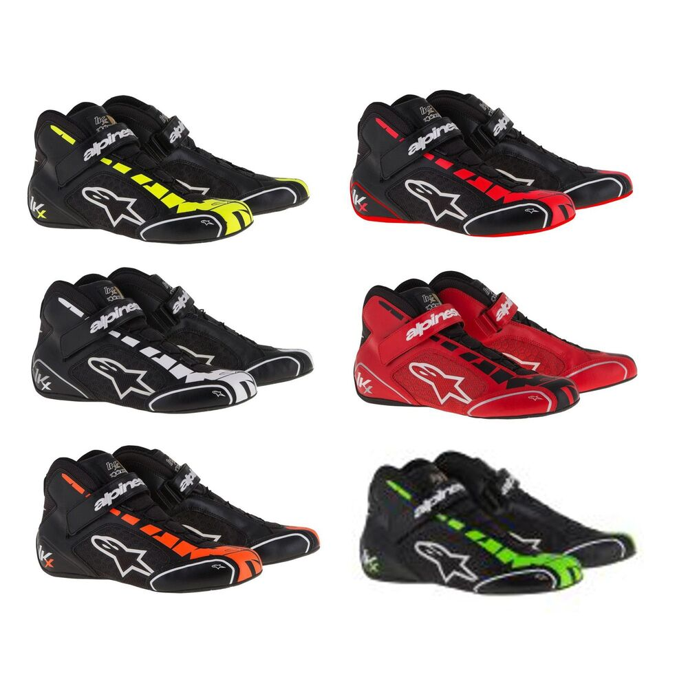 alpinestars tech 1 kx go kart karting karter race racing boots shoes ebay. Black Bedroom Furniture Sets. Home Design Ideas