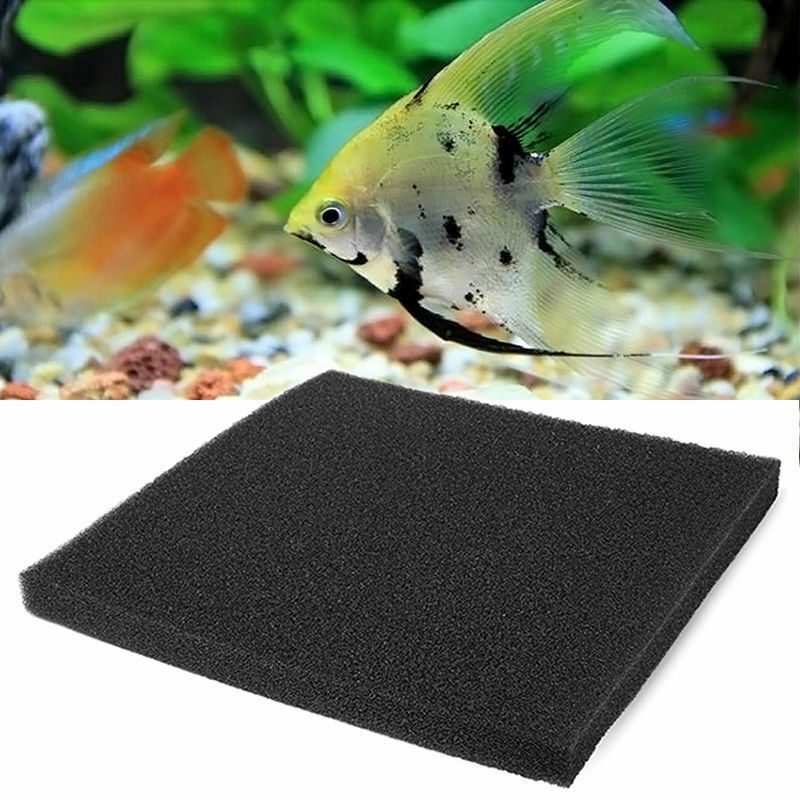 Black fish aquarium biochemical filter pond filtration for Pond filter foam which way up