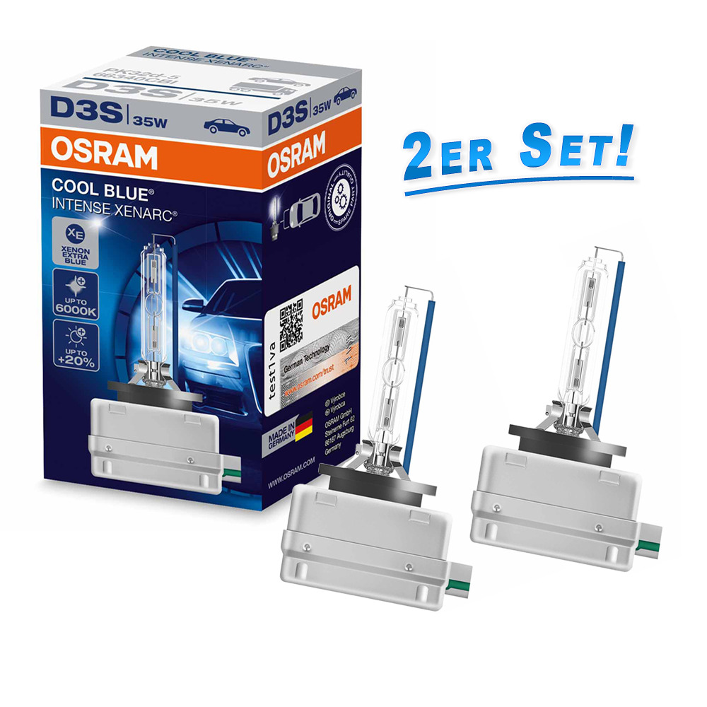 osram d3s cool blue intense 6000k xenon brenner 20 mehr. Black Bedroom Furniture Sets. Home Design Ideas