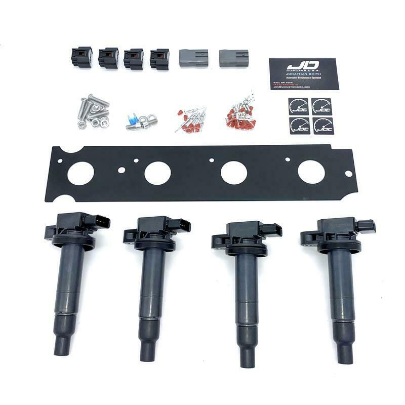 Evo 9 Diy Cop Kit New Denso Coils Amp Connectors Included