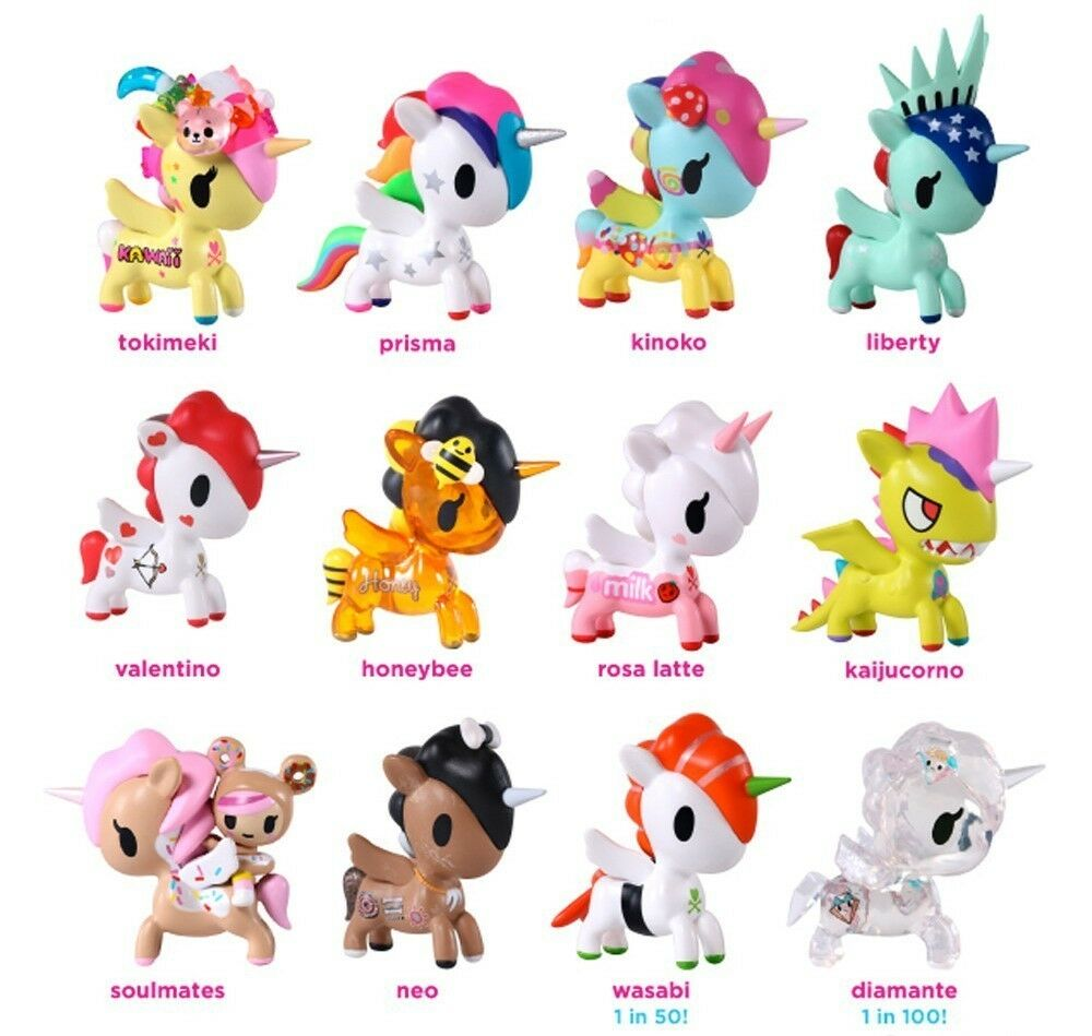 tokidoki unicorno vinyl art figure series 5 unicorn unicornos pony kidrobot ebay. Black Bedroom Furniture Sets. Home Design Ideas